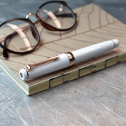Sailor Professional Gear White & Rose Gold Fountain Pen