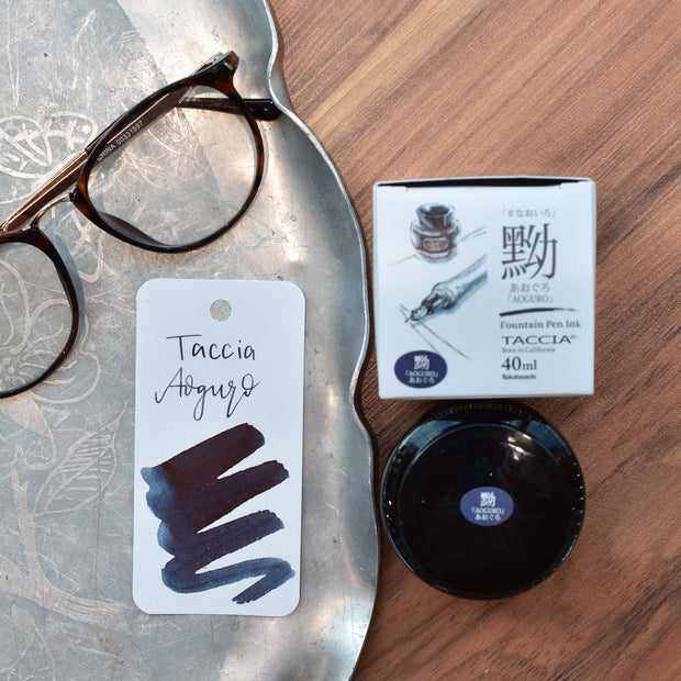 Taccia Aoguro Blue-Black Ink Bottle