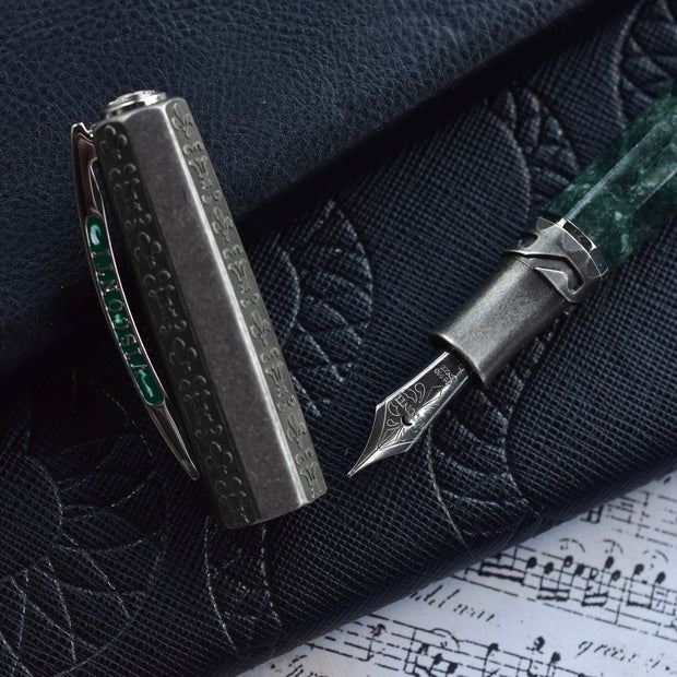 Visconti Limited Edition Il Magnifico Serpentine Green Fountain Pen