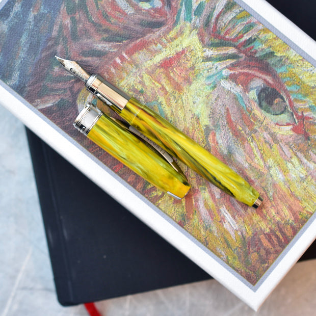 Visconti Van Gogh Impressionist Vincent's Chair Green Fountain Pen