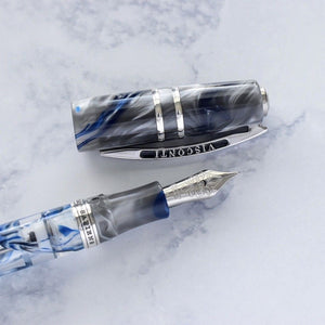 Visconti Limited Edition 888 London Fog Demonstrator Fountain Pen Medium M Nib