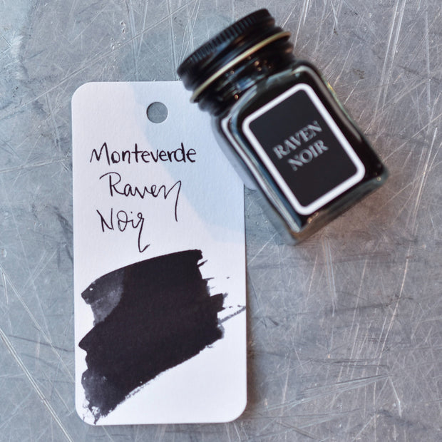 Monteverde Raven Noir Ink Bottle