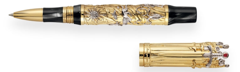 Montegrappa – Game of Thrones Solid Gold The Iron Throne Rollerball