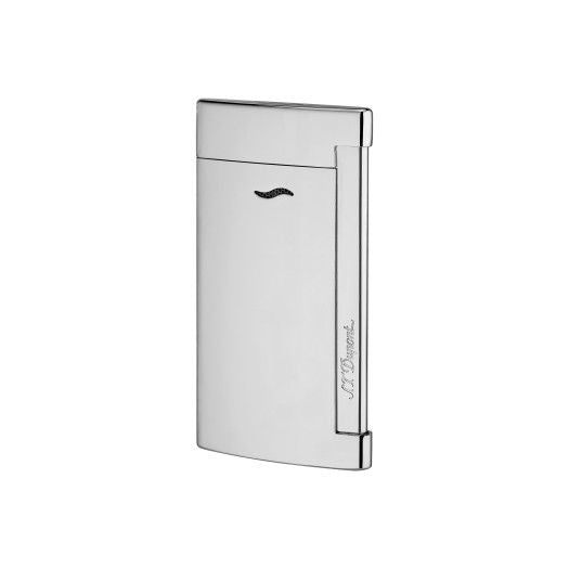 ST Dupont Slim 7 Full Shiny Chrome Lighter ST027713-ST Dupont-Truphae