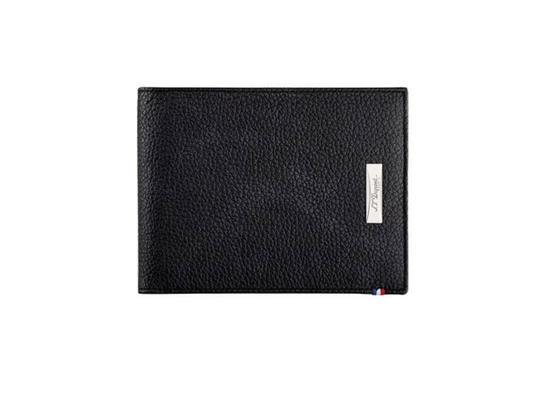 ST Dupont Defi Black Leather 6cc Billfold Wallet ST180260