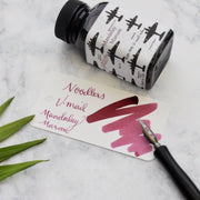 Noodlers V-Mail Mandalay Maroon Red 3oz Ink Bottle-Noodlers-Truphae