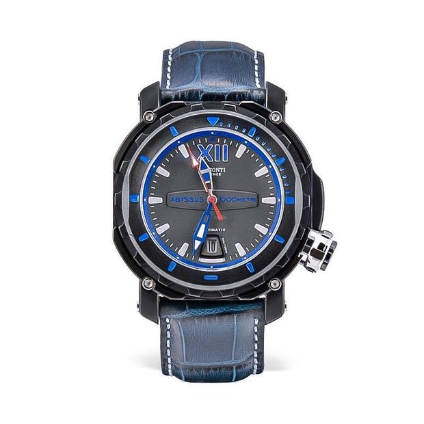 Visconti Italy Full Dive 1000 Stainless Steel PVD Gun Metal 45mm Automatic Watch-Visconti-Truphae
