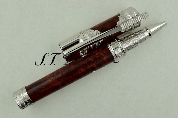 ST Dupont Limited Edition Conquest of the Wild West Fountain Pen Rollerball-ST Dupont-Truphae