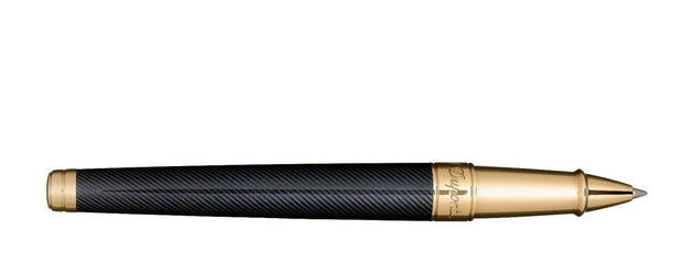 ST Dupont Limited Edition James Bond 007 Black Lacquer & Gold Rollerball Pen-ST Dupont-Truphae