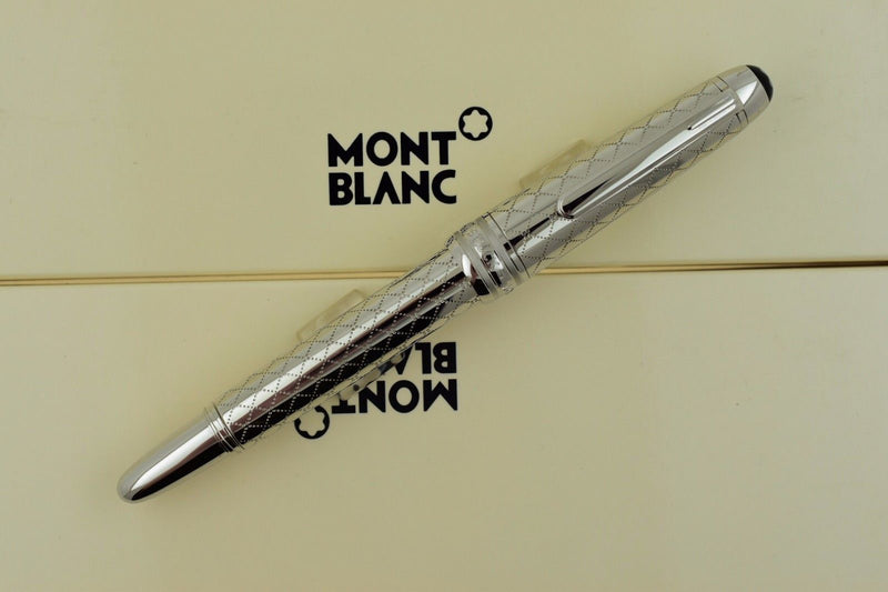 Montblanc Meisterstuck 118 Solitaire Jewellery Collection Mozart Rollerball Pen