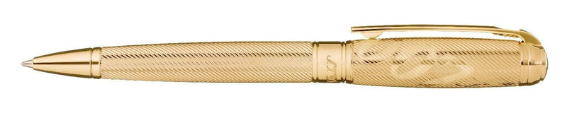 ST Dupont Limited Edition James Bond 007 Yellow Gold Plated Ballpoint Pen