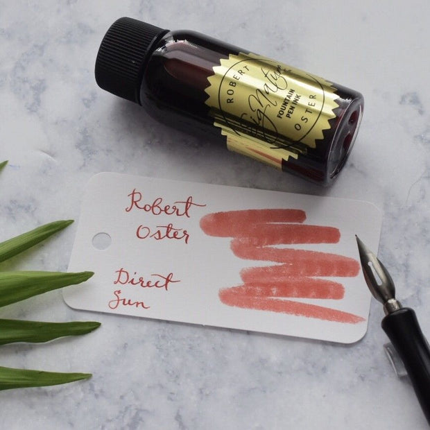 Robert Oster Direct Sun Red 50ml Ink Bottle-Robert Oster-Truphae
