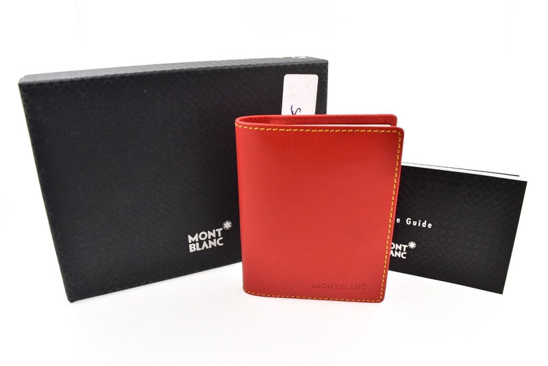 Montblanc Diaries & Notes Baby Diary Small Red Leather Address Book 9521