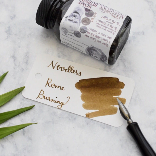 Noodlers Rome Burning Brown 3oz Ink Bottle-Noodlers-Truphae