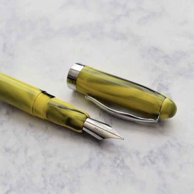 Noodlers Ahab Bumblebee Yellow Fountain Pen Flex Nib-Noodlers-Truphae