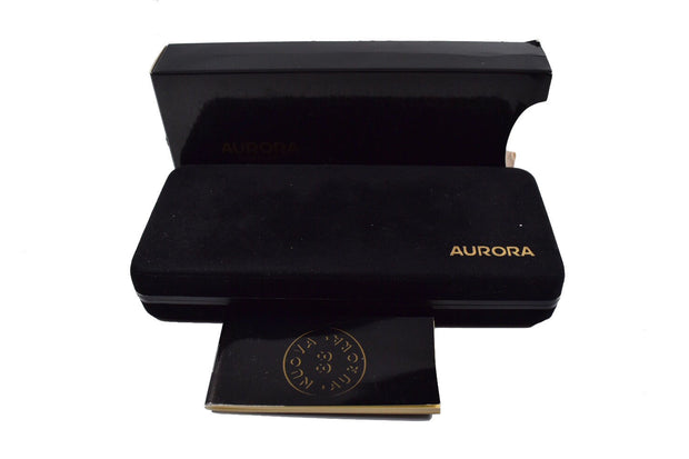 Aurora 88 Black Resin & Gold Plated Cap Ballpoint Pen-Aurora-Truphae