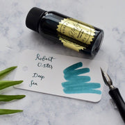 Robert Oster Deep Sea Turquoise Blue 50ml Ink Bottle-Robert Oster-Truphae