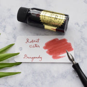 Robert Oster Burgundy Red 50ml Ink Bottle-Robert Oster-Truphae