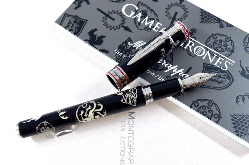 Montegrappa Special Edition Game of Thrones Westeros Fountain Pen