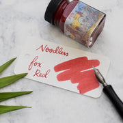 Noodlers Fox Red 1oz Ink Bottle-Noodlers-Truphae
