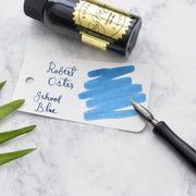 Robert Oster School Blue 50ml Ink Bottle-Robert Oster-Truphae