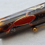Namiki Emperor No 50 Carp on Waterfall Maki-e Fountain Pen 14k Medium Nib-Pilot-Truphae