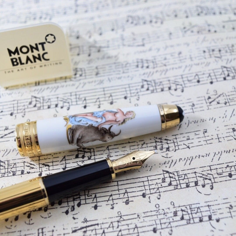 Montblanc Meisterstuck Annual Edition Classical Mythology Europa & Bull Fountain Pen