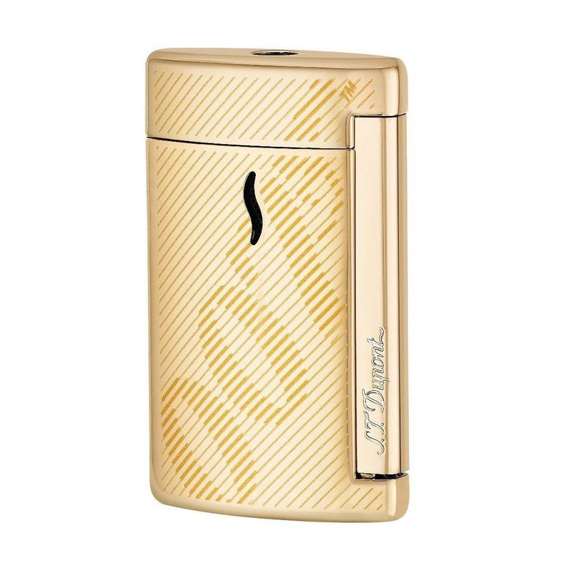 ST Dupont Minijet Special Edition James Bond 007 Yellow Gold Lighter ST010113