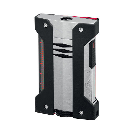 ST Dupont Defi Extreme Brushed Grey Chrome Lighter ST021403-ST Dupont-Truphae