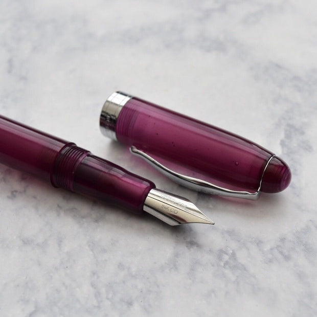 Noodlers Ahab King Philip Purple Fountain Pen Flex Nib-Noodlers-Truphae