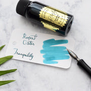 Robert Oster Tranquility Turquoise Blue 50ml Ink Bottle-Robert Oster-Truphae
