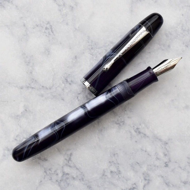 Noodlers Neponset Appalachian Pearl Acrylic Fountain Pen-Noodlers-Truphae