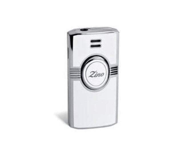 Davidoff Zino Leaf Pattern Jet Flame White Lighter 33148-Davidoff-Truphae