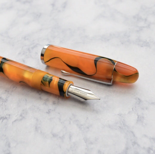 Noodlers Neponset Emeralds on the Sun Acrylic Fountain Pen-Noodlers-Truphae