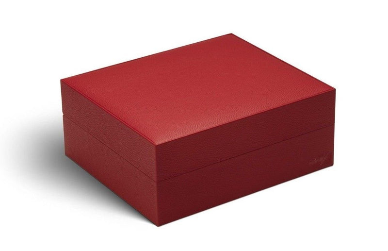 Davidoff Primos Limited Edition Red Leather Humidor 25 - 35 Cigars 101743