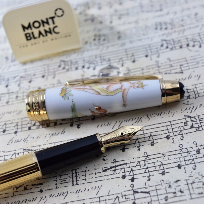 Montblanc Meisterstuck Annual Edition Classical Mythology Diana Aktaon Fountain Pen