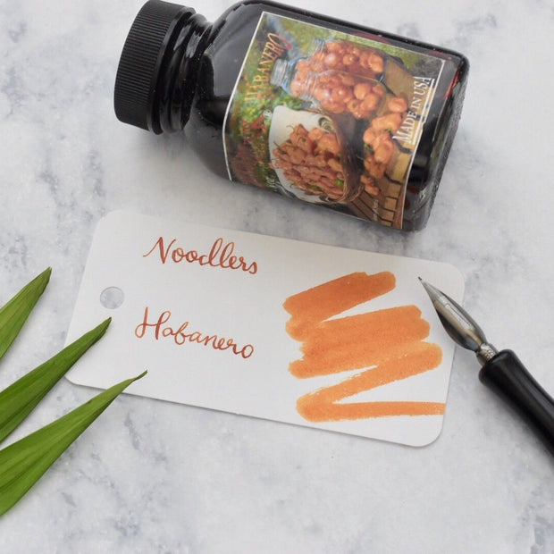 Noodlers Habanero Orange 3oz Ink Bottle-Noodlers-Truphae