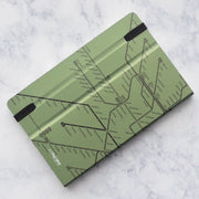 Mazzuoli Stifflexible Italy Stockholm Underground Green 9x14cm Pocket Notepad