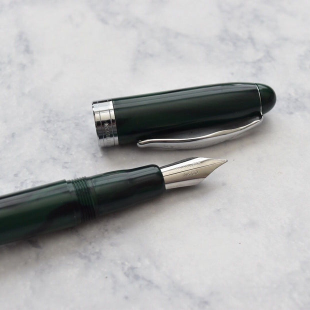 Noodlers Ahab Green Mountain Fountain Pen Flex Nib-Noodlers-Truphae