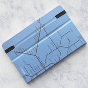 Mazzuoli Stifflexible Italy Milan Underground Light Blue 9x14cm Pocket Notepad