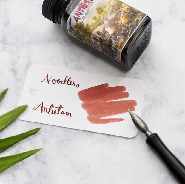 Noodlers Antietam Red Brown 3oz Ink Bottle-Noodlers-Truphae