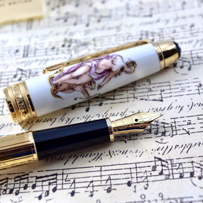 Montblanc Meisterstuck Annual Edition Classical Mythology Venus & Amor Fountain Pen
