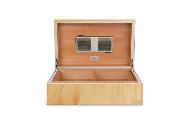 Davidoff Ambassador Limited Edition Sycamore Maple Satin Humidor 70 - 80 Cigars