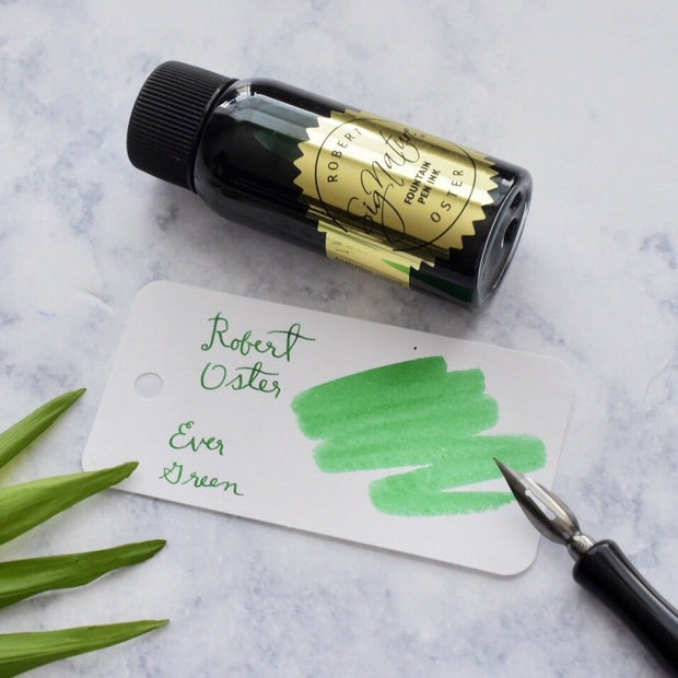 Robert Oster Ever Green 50ml Ink Bottle-Robert Oster-Truphae