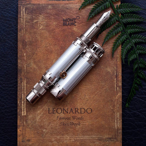 Montblanc Great Characters Leonardo da Vinci Limited Edition Fountain Pen Medium Nib
