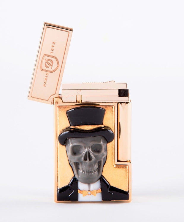 "ST Dupont Stones of Fortune ""Mr Os"" Dandy Skull Limited Edition of 288 Lighter-ST Dupont-Truphae"