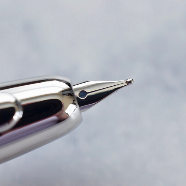 Pilot Namiki Vanishing Point Decimo Purple & Rhodium Fountain Pen 18k Gold Nib-Pilot-Truphae