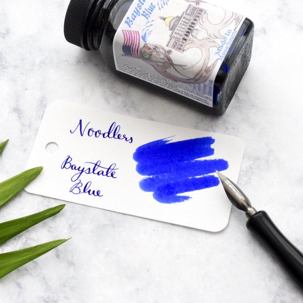 Noodlers Baystate Blue 3oz Ink Bottle-Noodlers-Truphae