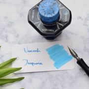 Visconti Turquoise Blue 40ml Ink Bottle-Visconti-Truphae