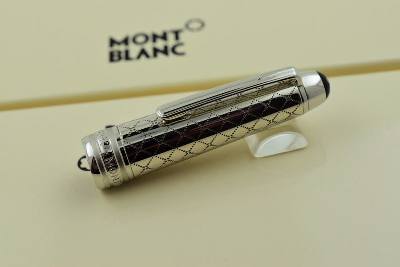 Montblanc Meisterstuck 114 Solitaire Jewellery Collection Mozart Fountain Pen F Nib